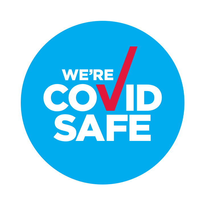 We're a COVID Safe Business!