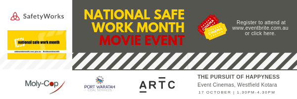 National Safe Work Month Movie Event - E-signature